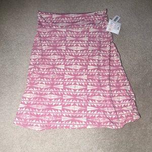 🎈 Lula Roe Pink Tribal Southwestern Print Skirt